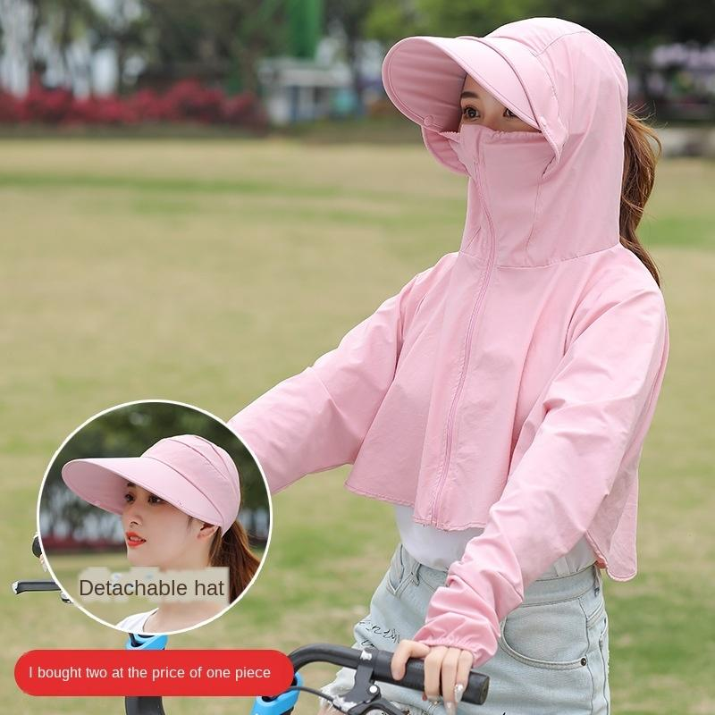6W5qA new Clothes women's long sunscreen 2020 summer early trjlR thin Clothes clothescoat sunscreen clotheswomen's all-match hooded loose sl