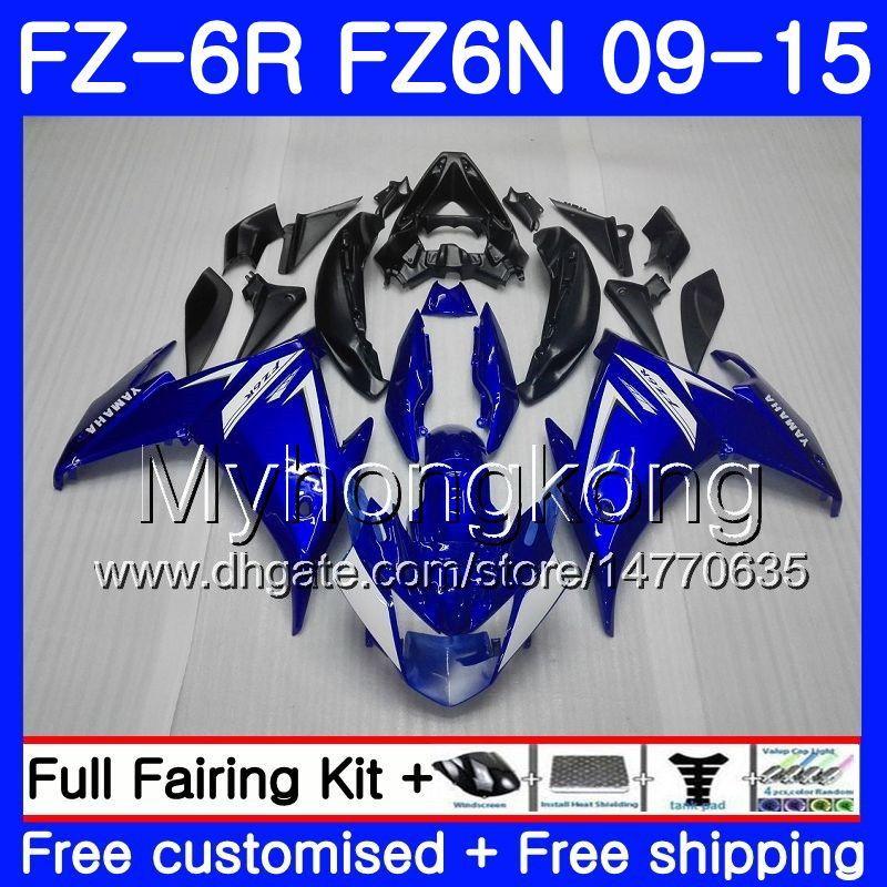 ヤマハFZ6N FZ6 R FZ 6N FZ6R 09 10 11 12 13 14 15 239HM.0 FZ-6R FZ 6R 2009年2011年2011年2011年2012年2012年2012年2014年2013年2013年2014年4月フェアリングファクトリーブルーBLK
