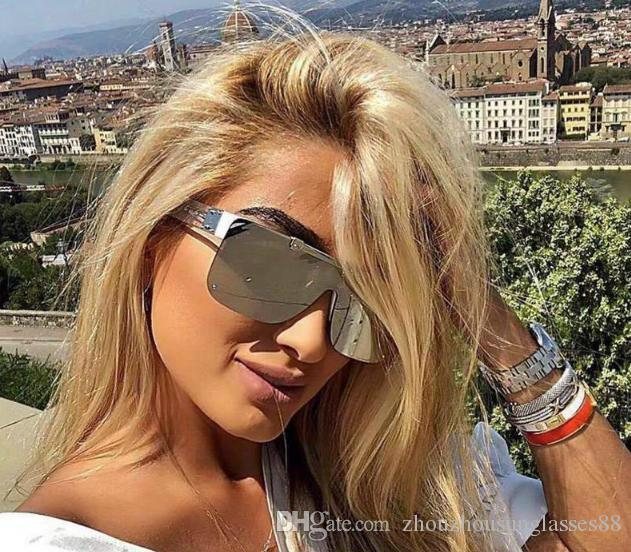 NUEVO MILLONARIO gafas de diseño Vintage marco completo 1196 gafas de sol para los hombres calientes de la venta de oro brillante chapado en oro de calidad superior 1.1 gafas de sol