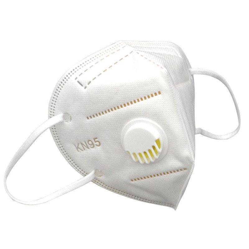 En la prueba de polvo de alta calidad de PM 2.5 Cara Boca Máscara con Traje de desgaste de válvulas para Adultos