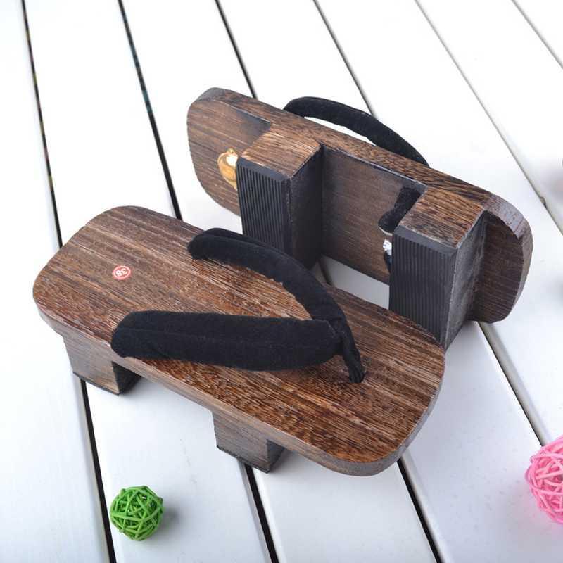 Estate flip-flop Donne Pantofole 2020 Piattaforma Estate giapponese Geta Cosplay scarpe di legno pantofole Sandalia Feminina