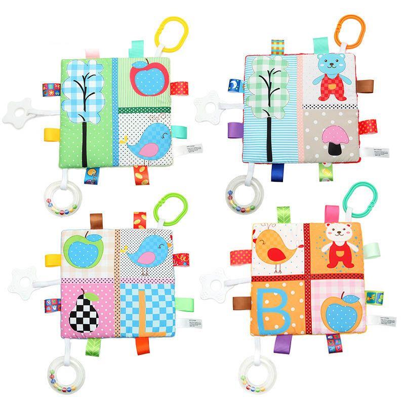Alta infantil Teething pano Appease Toalha Toy Bebê mordedor Blanket Hanging Soando Toalha KTC 66