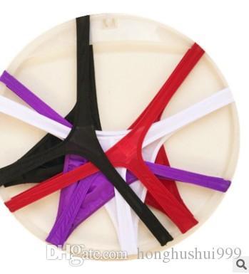 도매 저렴한 가격으로 고품질의 무료 배송 3pcs / lots 남성 T 바지 G - string 속옷 jjhty