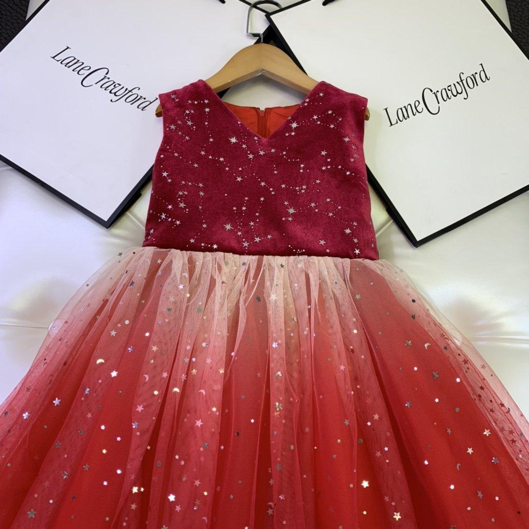 filles Stylistes robes bébé robe de coton fille mode la nouvelle liste Hot Party simple TT4V beau magnifique classique