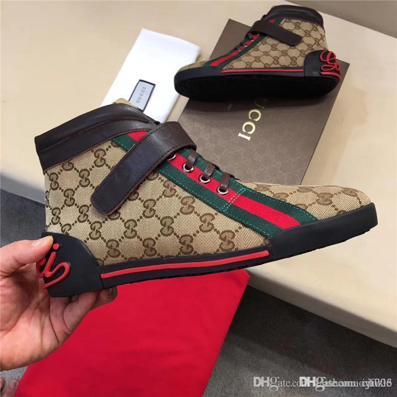 Venta caliente más nueva marca hombres mujeres mocasines zapatillas g blanco negro de corte bajo casuales zapatos planos al aire libre unisex zapatillas diseñadores zapatos