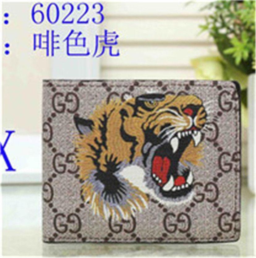 2020 дизайнерский кошелек карты и монеты известные мужские кошельки кожаный кошелек держатель карты роскошный кошелек женский кошелек без коробки A011