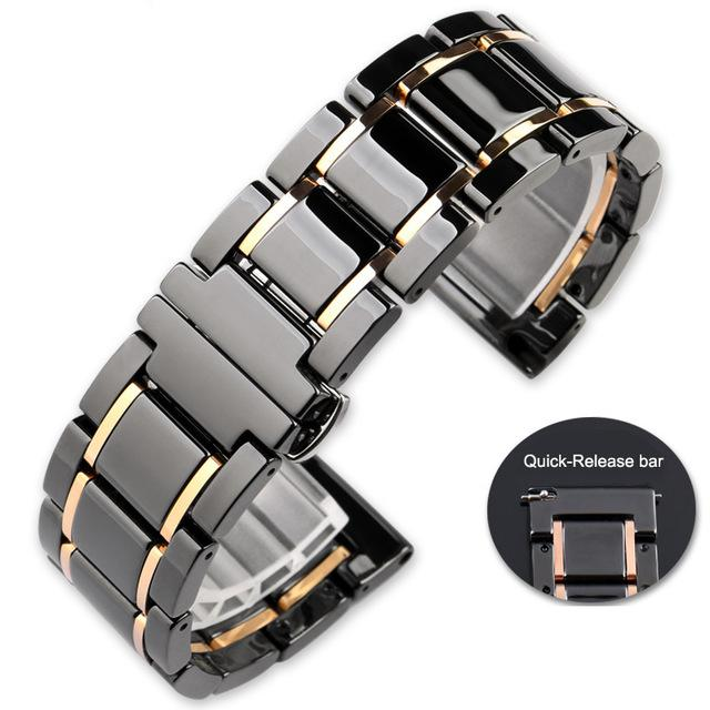 Luxury Ceramic Watcn Band for Apple Watch Series 1 2 3 4 5 Strap for Apple Iwatch 38mm 40mm 42mm 44mm Strap Sport Band Best Gift