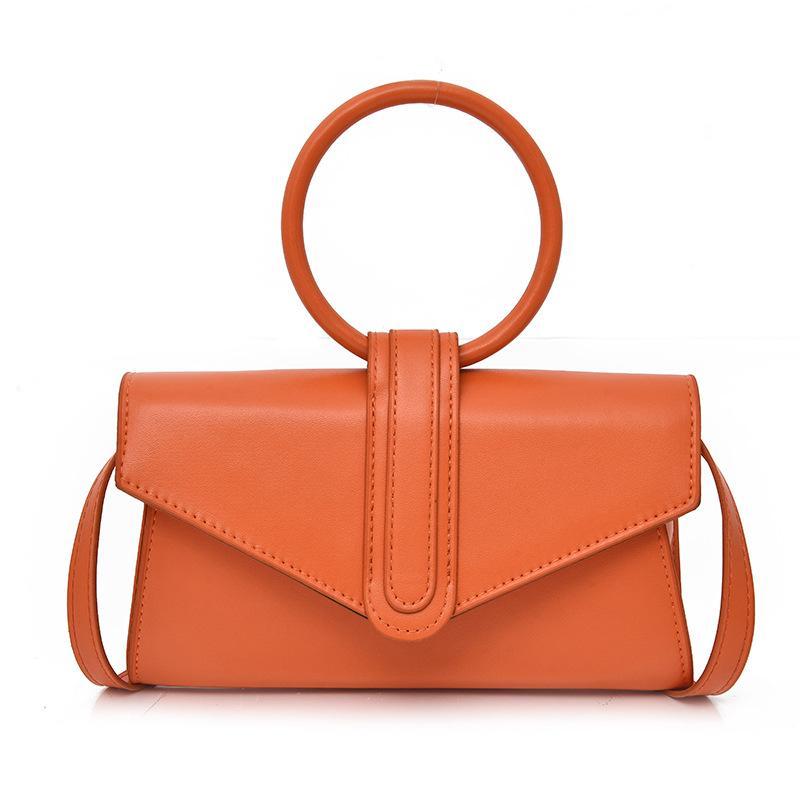 أزياء سيدة حقيبة الحلوى لون خاتم حقيبة يد مصمم واحد الكتف الصليب حقيبة فتاة الترفيه السفر حقيبة crossbody