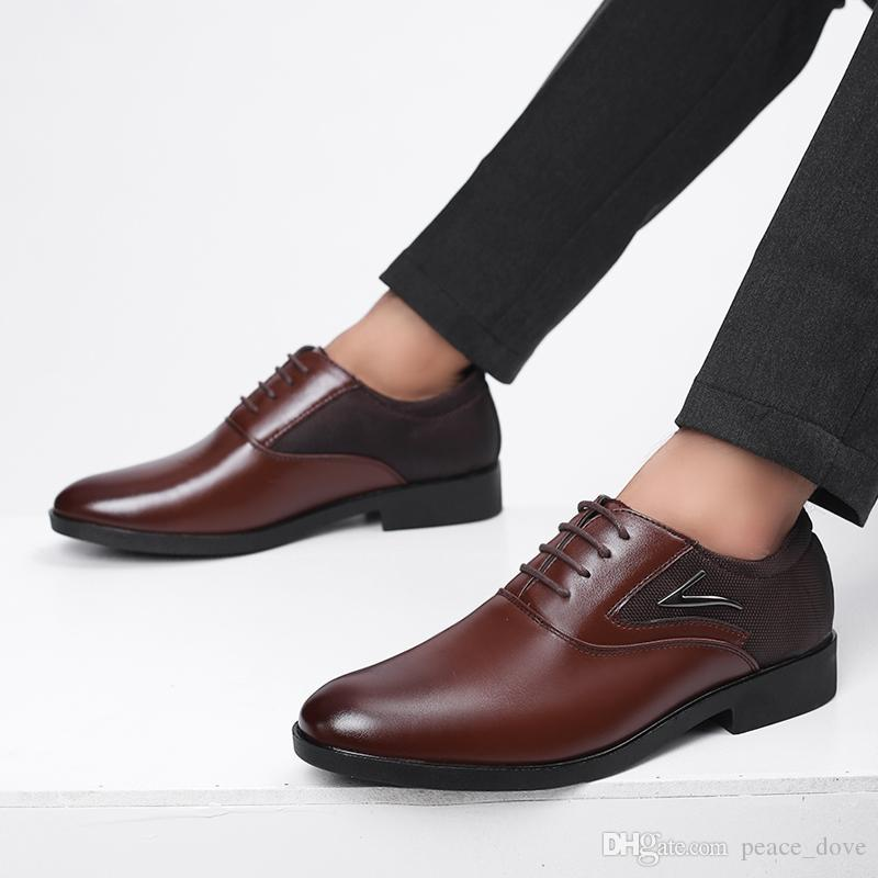 Black Formal Shoes For Men Office Shoes