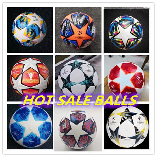 18 19 20 Final KYIV European Soccer ball PU size 5 balls granules slip-resistant football 2019 2020 high quality balL