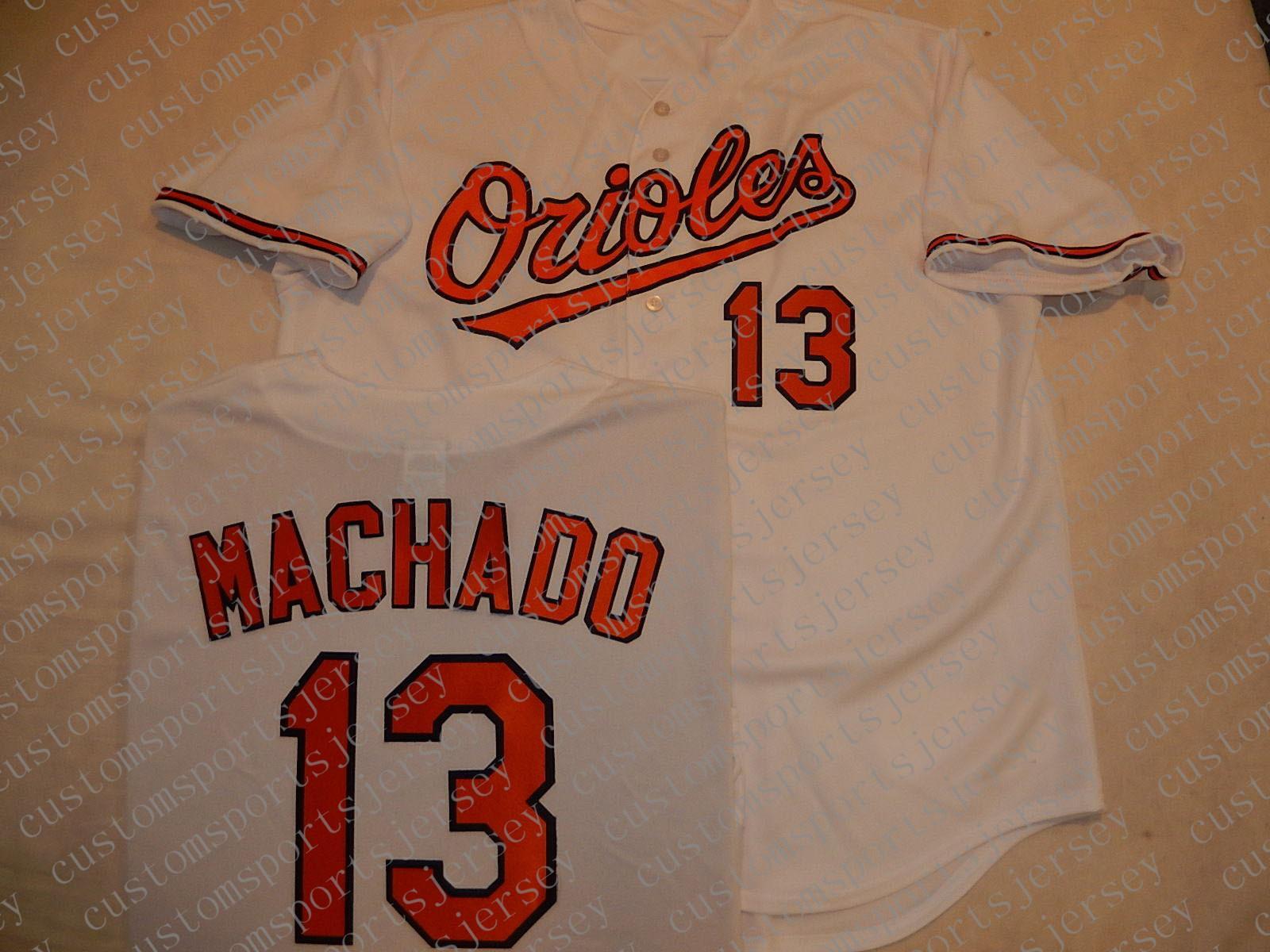 100% embroidery custom MANNY MACHADO Jerseys NEW Stitch customize any number name MEN Jerseys XS-5XL NCAA JERSEY