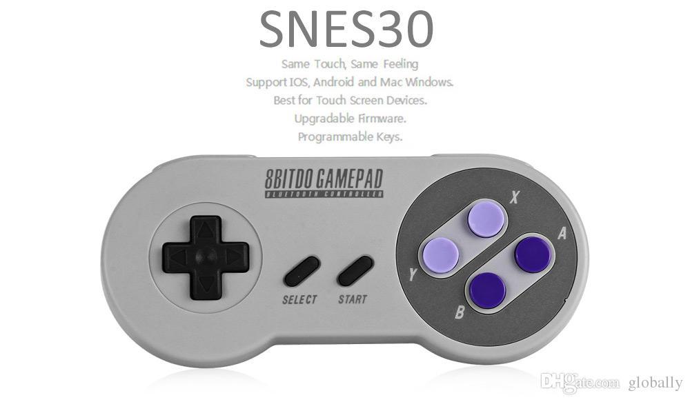 Gamecontroller Stick Gamepad Joystick Wireless Mac Computer Zubehör Anzug für alle Emulatoren Upgrade Controller