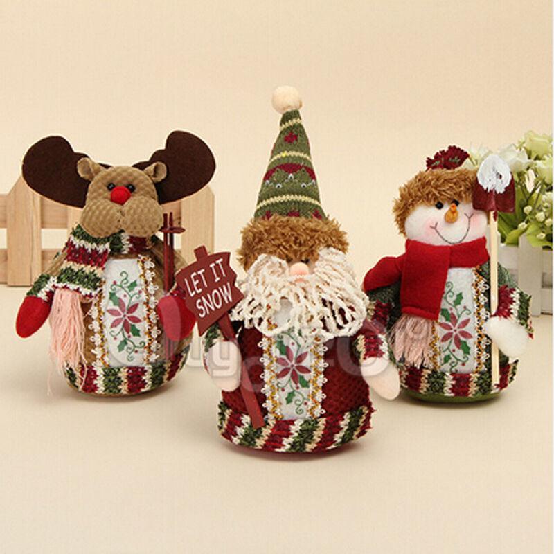 Santa Bambola Pupazzo Di Neve Albero Di Natale Decorazione Appesa Ornamenti Partito Decor Regalo