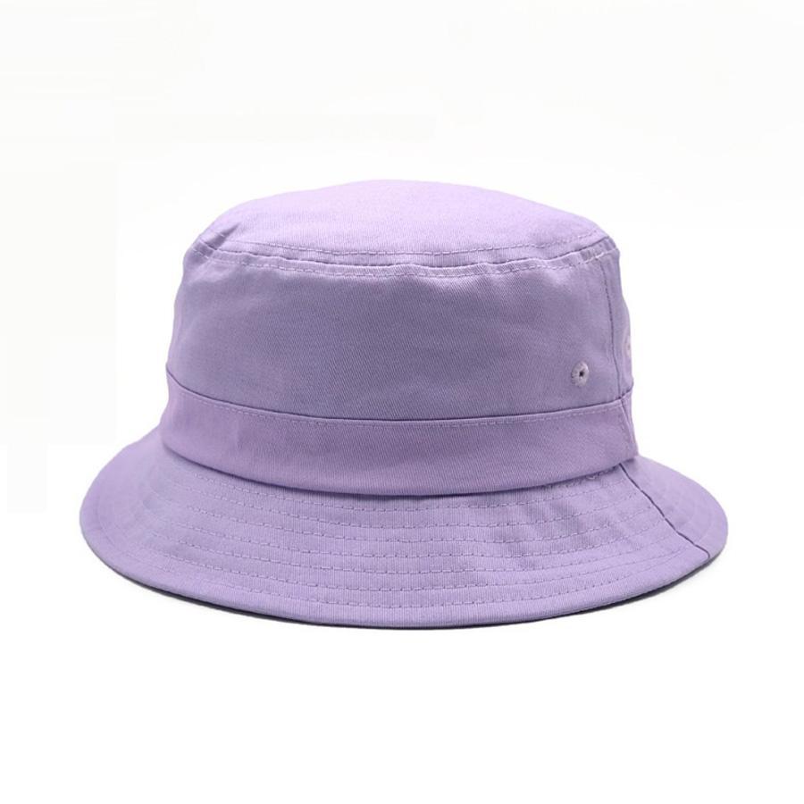 Katı Violet Kepçe Hat Bayanlar Kadınlar Erkekler Güneş Geniş Brim Balıkçılık Şapka Balıkçı Cap Panama Pop Hip Hop Harajuku Av Açık Yaz Moda