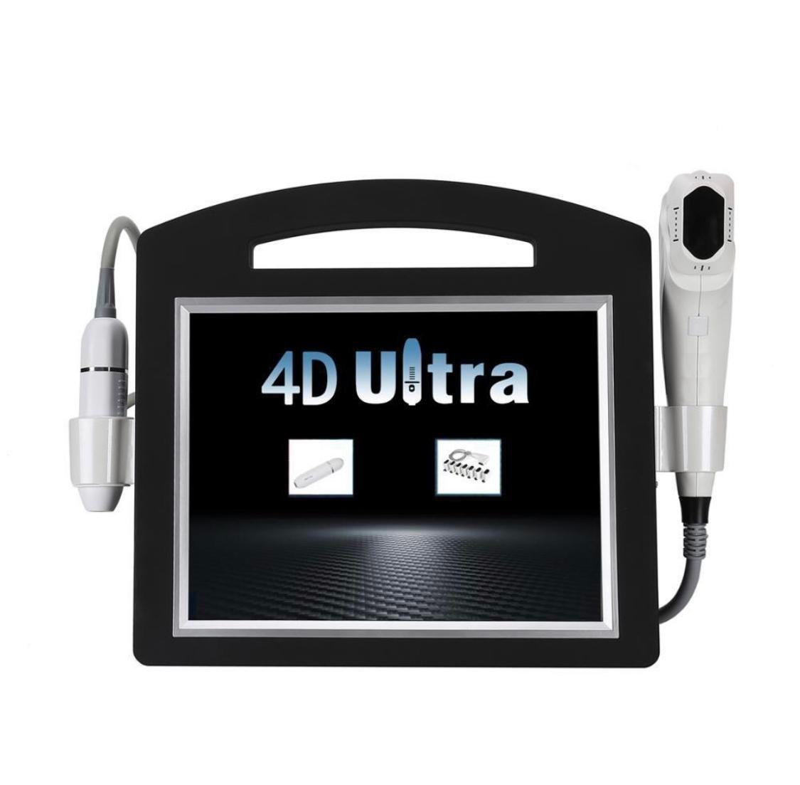 2020 جديد 4D HIFU خراطيش 20000 طلقات عالية الكثافة تركز الموجات فوق الصوتية آلة hifu الوجه الوجه رفع التجاعيد إزالة الجسم التخسيس