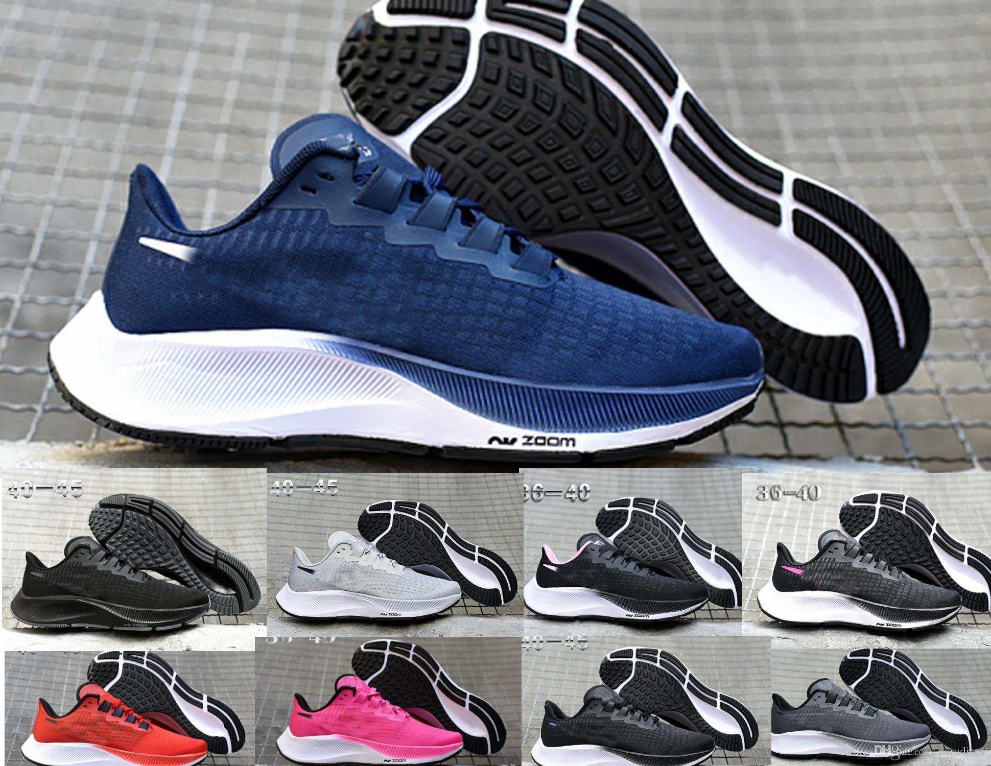 Pegasus 37 gravidade homem sapatos 37 tênis de esporte ao ar livre sapato de passeio sapatos de desconto preço baixo para as mulheres homens com caixa