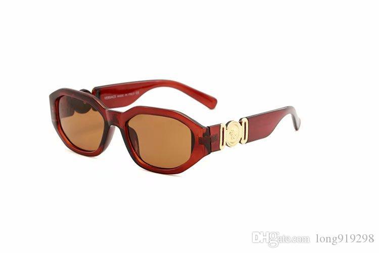 Mode de vente chaude nouveau style femmes carrées lunettes de soleil italien designer de la marque 290 hommes lunettes de soleil conduite spors lunettes