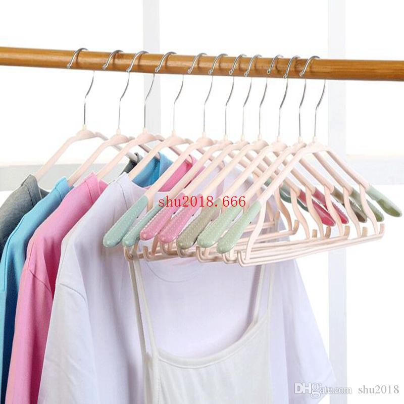 free shipping Adult No Mark Rotation Dry Hanger Multi-functional Clothing Store Non-slip Clothing Shelf