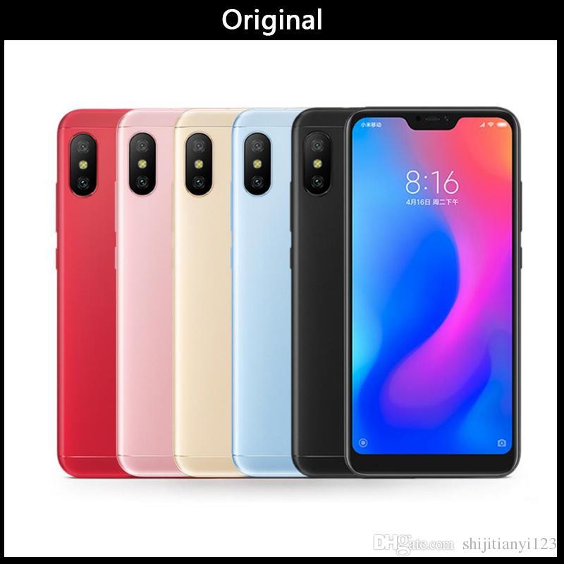 "Original Xiaomi Redmi 6 Pro Mobile Phone 4GB RAM 32/64GBGB ROM Snapdragon 625 Octa Core 5.84"" 19:9 Full Screen Dual AI Camera 4000mAh"