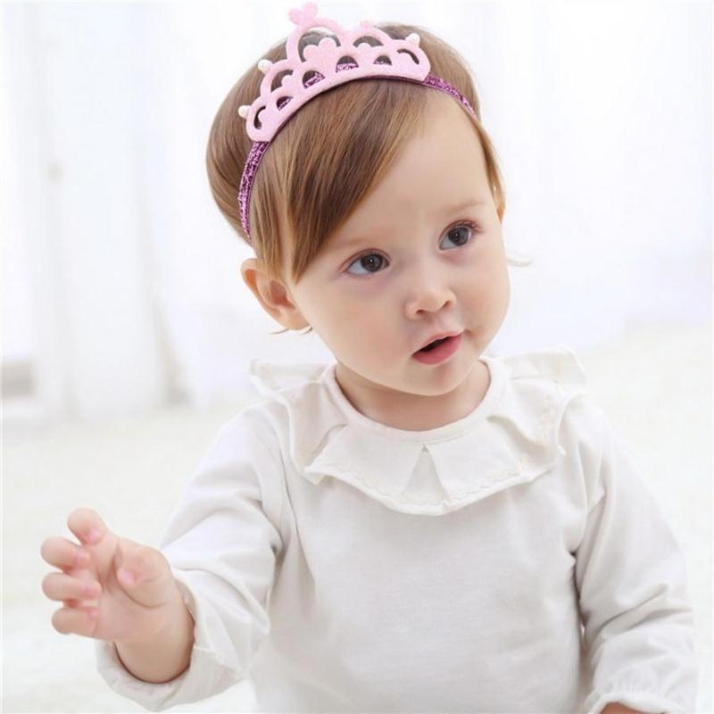 500pcs Crianças Estrela Tiaras Rhinestone Headbands Crown faixas do cabelo colorido brilhante Acessórios para Cabelo