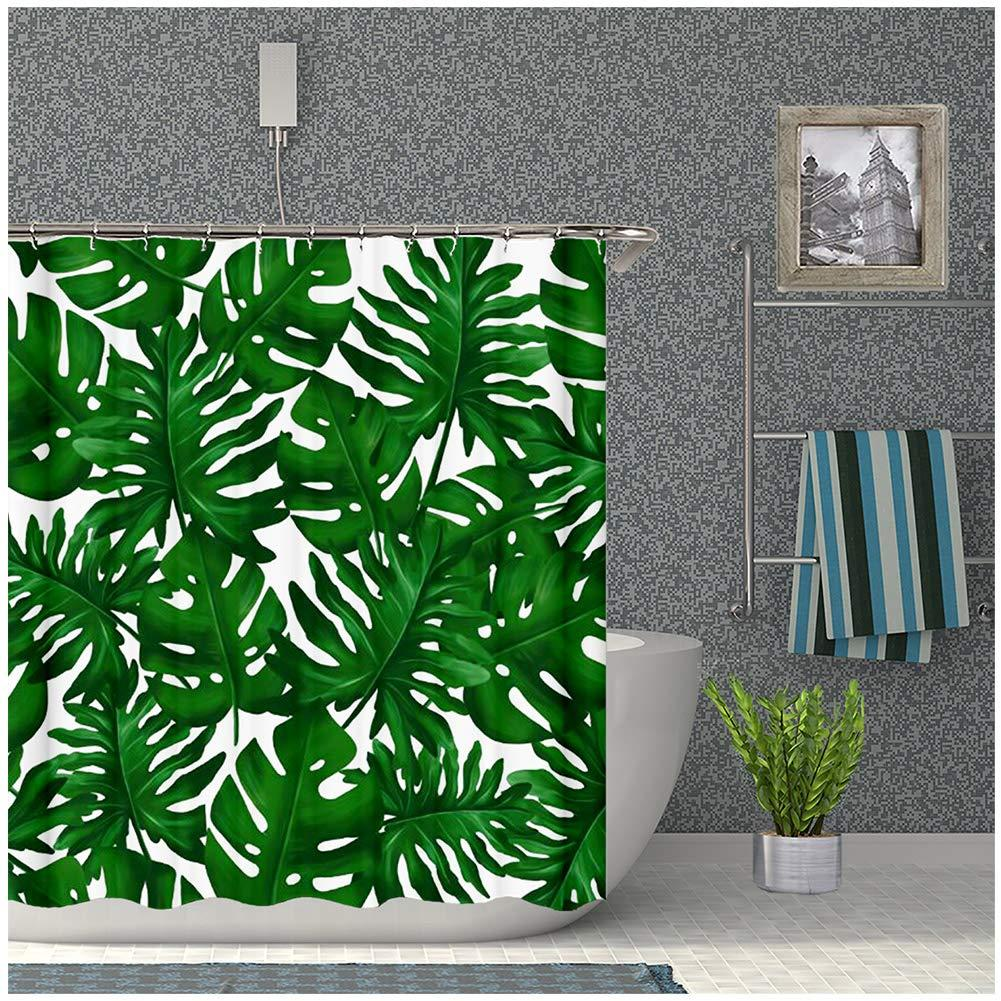 2020 Tropical Palm Leaves Shower Curtain Banana Leaf Bathroom Curtains Quick Drying From Ptdiy 22 22 Dhgate Com Free returns high quality printing fast shipping. 2020 tropical palm leaves shower