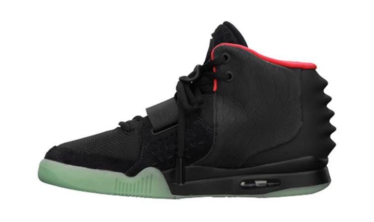 Erkekler 2s Glow Siyah Grye Kırmızı Moda Spor Spor ayakkabılar için Kanye West 2 II NRG Kırmızı Basketbol Ayakkabı