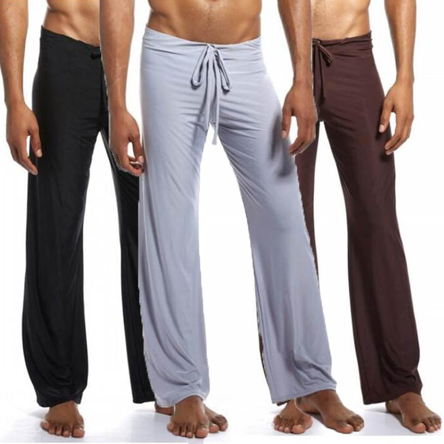 2020 Mens Pants Mens Sleep Bottoms Viscose Home Pants Loose Sexy Mens  Lounge Pants Silk Fashion Strap Sexy Male Pajamas Plus Size 3XL 4XL From  Zhouzhaoyu, $10.08 | DHgate.Com