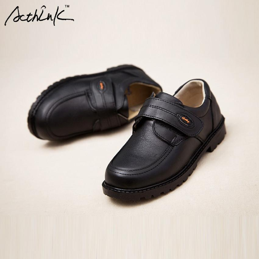 Acthink New Kids Genuine Leather