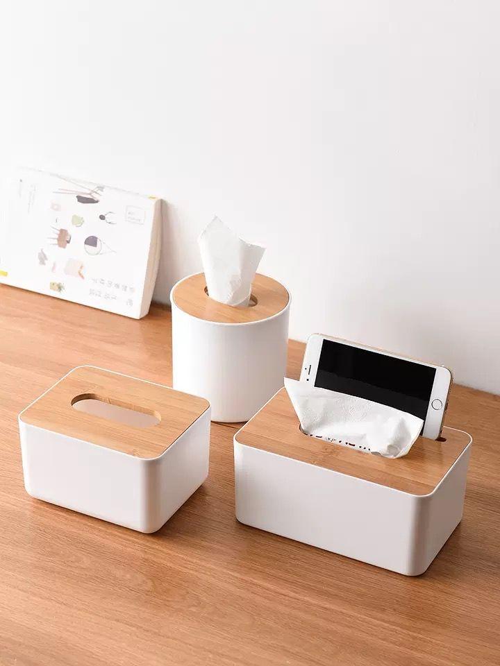 2019 Plastic Tissue Box Home Living Room Creative Paper Napkin