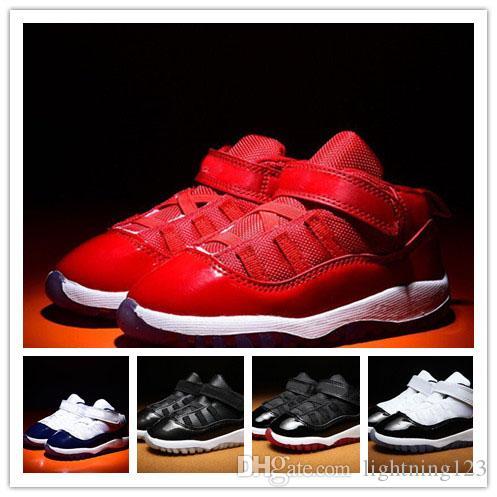 (boîte) 11 Platinum Tint Cap et robe Gym Rouge Noir Stingray OVO Marine Minuit Bred Chaussures 11s Hommes Femmes Enfants Basketball Sneaker Drop Ship
