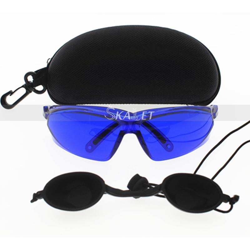 New Portable Safety Red Laser Protection Goggle Ipl E-Light Blue Glasses UV