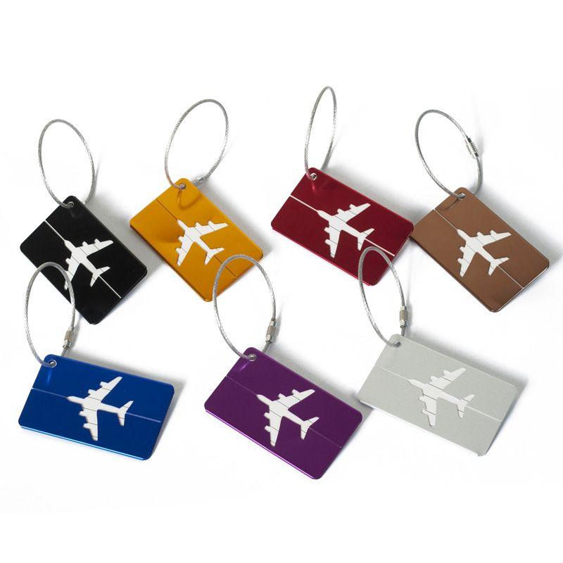 Etiquetas da bagagem da mala de viagem Etiquetas da bagagem de embarque Etiqueta da bagagem do curso do cartão de bagagem do vôo