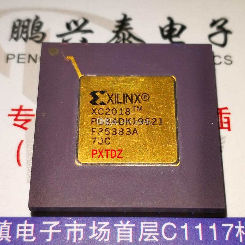 XC2018, XILINX-Chips für integrierte Schaltkreise, vergoldete Oberfläche CPGA-85-Pins Keramikgehäuse-ICs, verwendet. Entlöten von elektronischen Komponenten