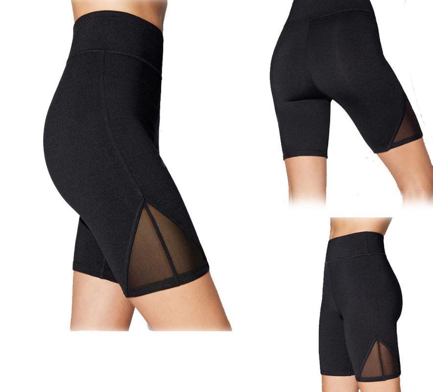Perimedes رياضية للنساء اليوغا السراويل اللباس يوجا السراويل تجريب الجانبية الجيب السريع تجفيف التنفس الدراجات تشغيل السروال # Y35