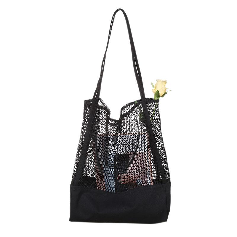 Fashion-Fruit Shopping Bag Storage Ultra Reusable Grocery Bags Tote Canvas Net Fabric Bag