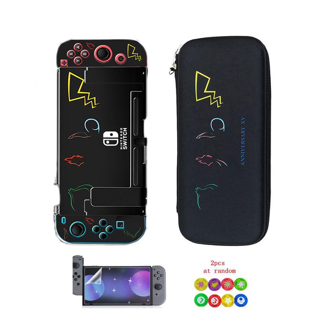 Pokenmons ANNIVERSARY XV Nintend Switch EVA Case портативная сумка для хранения+жесткий чехол NintendoSwitch консольная крышка игровые аксессуары
