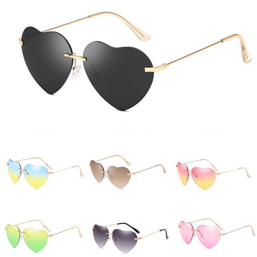 15 Farben-Frauen Kleine Katzenaugen-Heart-Shaped Sunglasee Rote Feld-Frauen-heiße Verkaufs-Damen Sunglass Vintage sexy Brillen Shades Uv400 # 16719