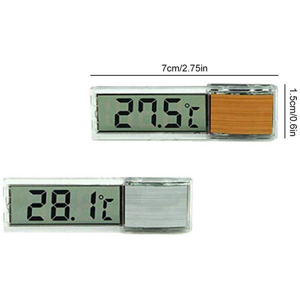 Fish Tank Termometro Acquario Temperatura Monitor LCD impermeabile sommergibile Termometro digitale del sensore Altri pesci d'acquario