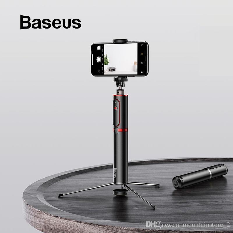 Новый Bluetooth селх Стики Портативного смартфон штатив камера с беспроводным пультом дистанционного управления для iPhone Samsung Huawei Android (Retail)