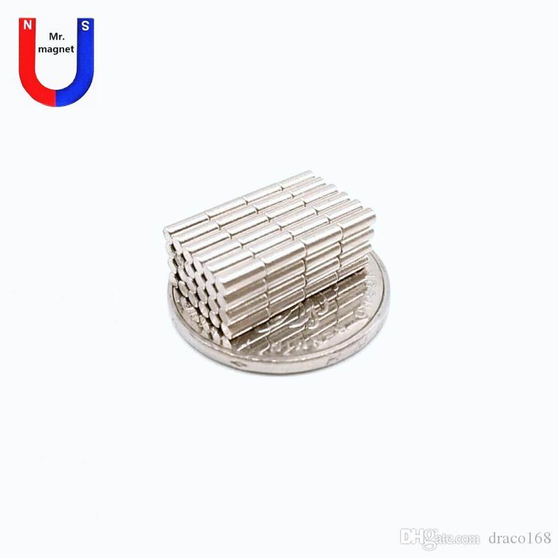 500 Stück D2mmx 5mm 2x5mm D2x5mm 2 * 5 * 5 D2 2mmx5mm 2x5 Super starke N35 permanent Seltenerdmagnet