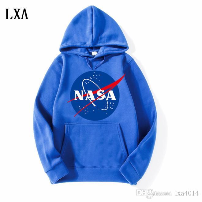 La nueva Nasa Hoodies sudaderas moda abrigos chaquetas Hoody Hoodies sudaderas para hombres y mujeres EL-4