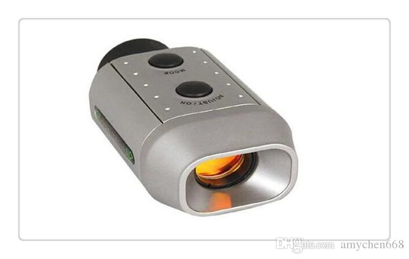 Portable Mini Digital 7X Golf Scope Range Finder Distance 1000m With Padded Case Newest