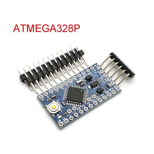 Unterhaltungselektronik mit dem Bootloader Pro Mini 328P 328 Mini ATMEGA328 3.3V / 8MHz 5V / 16MHz für Arduino ATMEGA328P Modul