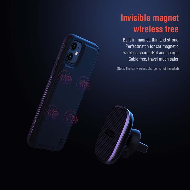 IPhone için 11 Sihirli Kılıf Nillkin Güçlü Yerçekimi Kablo Serbest Magic Kılıf Kapak Iphone 11 Pro Tam Kapsam Kılıf Yüksek Kalite için