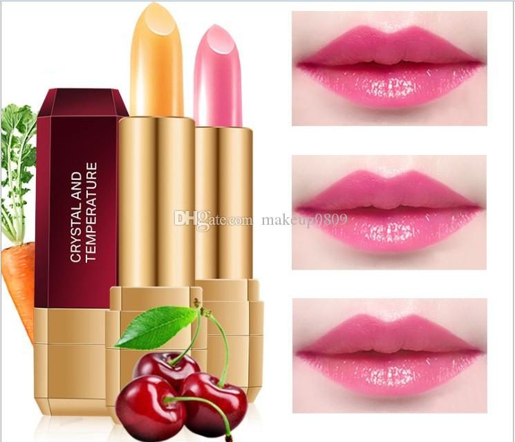 new Hanel warm lipstick red cherry carrot lipstick authentic manufacturer cosmetics
