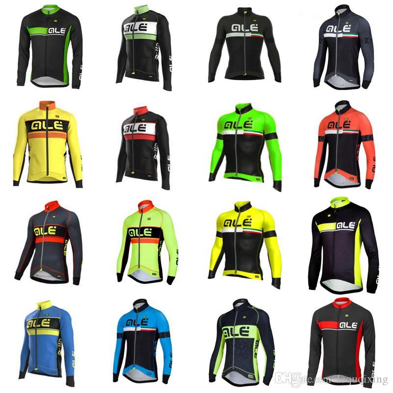 Patlama eğilim sıcak satış bisiklet elbise ALE takım bisikleti jersey Bisiklet Giyim uzun kollu mtb Pro erkek bisiklet formalar X71561