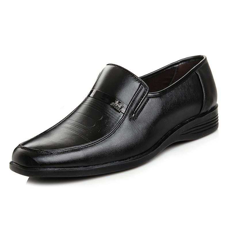 Homens Sapatos Primavera de couro confortável de alta qualidade Fashion Dress Mens Shoes # MS8116188