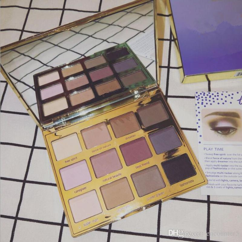 Makeup Eyes Palette in Bloom Clay Palette toasted eyeshadow palette 12 Colors High Performance Naturals Eye Shadow
