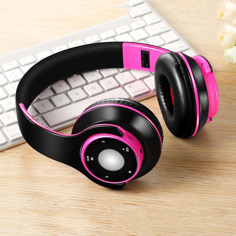 Auriculares inalámbricos Bluetooth de calidad superior con paquete al por menor Auriculares deportivos Auriculares con micrófono Estéreo HIFI con estuche