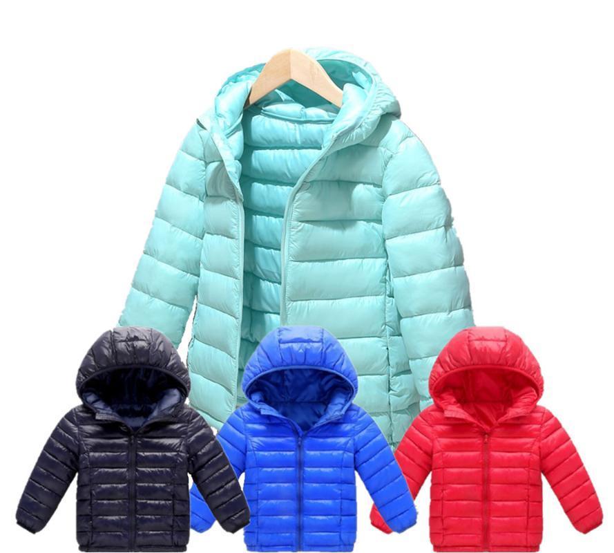 Мальчики Девочки Хлопок Зима Мода Спорт куртки и пиджаки Дети хлопка ватник Мальчики Зима Теплое пальто